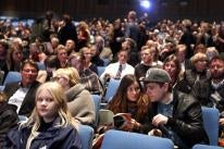 The audience at the Reykjavik International Film Festival  2016