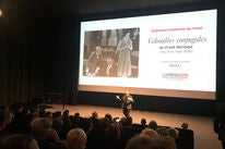 """Festival Director Thierry Frémaux introduces HFPA restored at """"The First Year"""" screening in Lyon"""