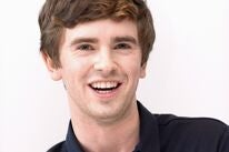 Actor Freddie Highmore, Golden Globe nominee
