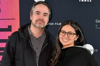 Directors Alex Rivera and Cristina Ibarra at Sundance 2019