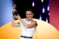 Actress Penelope Cruz receives award at the 2019 San Sebastian Film Festival