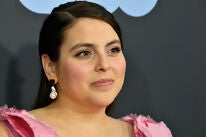 Actress Beanie Feldstein, Golden Globe nominee