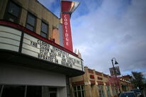 A closed movie theater in the US, COVID-19, 2020