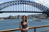 Actress and director Angelina Jolie, Golden Globe winner, in Sydney, Australia, 2014