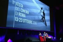 Golden Globe winner director Oliver Stone at the Rome Film Festival 2016