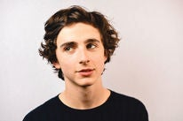 Actor Timothee Chalamet, Golden Globe nominee
