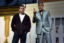 "George Clooney and Matt Damon present ""Suburbicon"" at CinemaCon 2-17"