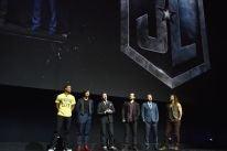 The cast of Justice League at CinemaCon 2017, Las Vegas