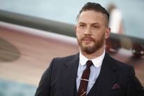 Actor Tom Hardy at the 'Dunkirk' premier in London, July 2017