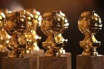 Golden Globe trophies