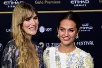 Actress Alicia Vikander and director Lisa Langseth
