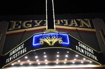 A view of the Egyptian Theater, Park City, UT