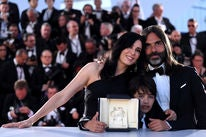 "Filmmakers of the film ""Capharnaum"" at Cannes 2018"