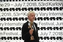 ACtor and director Tim Robbins at the 2018 Karlovy Vary Film Festival