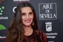 Spanish actress Angela Molina
