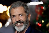 Actor and director Mel Gibson, Golden Globe winner