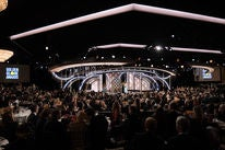 The view of the 76th Golden Globes