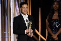 Rami Malek at the 2019 Golden Globes