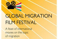Logo ofthe 2002 Global Migration Film Festival