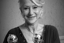 Actress Helen Mirren, Golden Globe winner