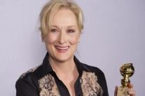 Actress Meryl Streep, Goldem Globe winner