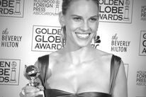 Hilary Swank at the 2005 Golden Globes