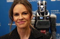 Hilary Swank and Drioid in Sundance 2019
