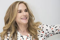 Actress Holly Hunter, Golden Globe winner