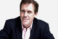 Actor Hugh Laurie, Golden Globe winner
