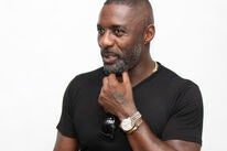 Acror and DJ Idris Elba, Golden Globe winner