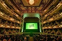 Opening of the 2019 Oaxaca Film Festival at the Macedonio Alcala Theater in Oaxaca, Mexico