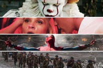 "Scenes from ""It"", ""Home, Again"", ""Spider-Man: Homecoming"", and ""Dunkirk"""