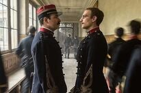 "Jean Dujardin and Louis Garrel in ""J'accuse"" (2019)"