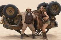"Jack Black and Karen Gillan in ""Jumanji: The Next Level"" (2019)"