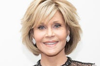 Actress and producer Jane Fonda, Golden Globe winner