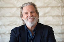 Actor Jeff Bridges, Golden Globe winner
