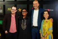 Director Ari aster and organizers of the Mumbai Film Festival 2019