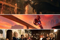 "Scenes from ""Jurassic World: Fallen Kingdom"", ""Incredibles 2"" and ""Ocean's 8"""""