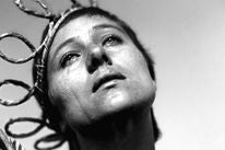 "A scene from the movie ""The Passion of Joan of Arc"""