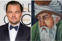 Golden Globe winner Leonardo diCaprio and Persian poet Rumi