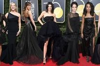 Guests  at the 75th Golden Globes
