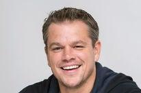 Actor and produecrs Matt Damon, Golden Globe winner