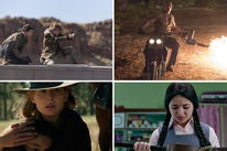 "Scenes from ""Maze Runner: The Death Cure"", ""Jumanji: Welcome to the Jungle"", ""Hostiles"" and ""Secret Superstar"""