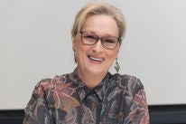 Actress Meryl Streep, Golden Globe winner and nominee