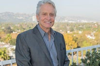Michael Douglas, Golden Globe winner