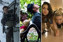 "Scenes from ""Mission Impossible - Fallout"", ""Christopher Robin"" and ""The Spy Who Dumped Me"""