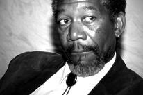 Actor Morgan Freeman, Golden Globe winner, Cecil B. deMille award recipient