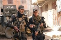 """A scene from """"Mosul"""", 2020"""