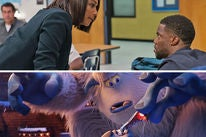 """Scenes from """"Night School"""" and """"Smallfoot"""""""