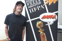 Actor Norman Reedus at Comic-Con 2018